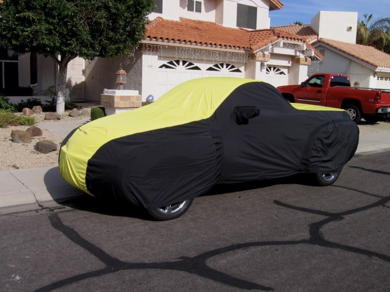 SSR Coverking Stormproof Two Tone Car Cover