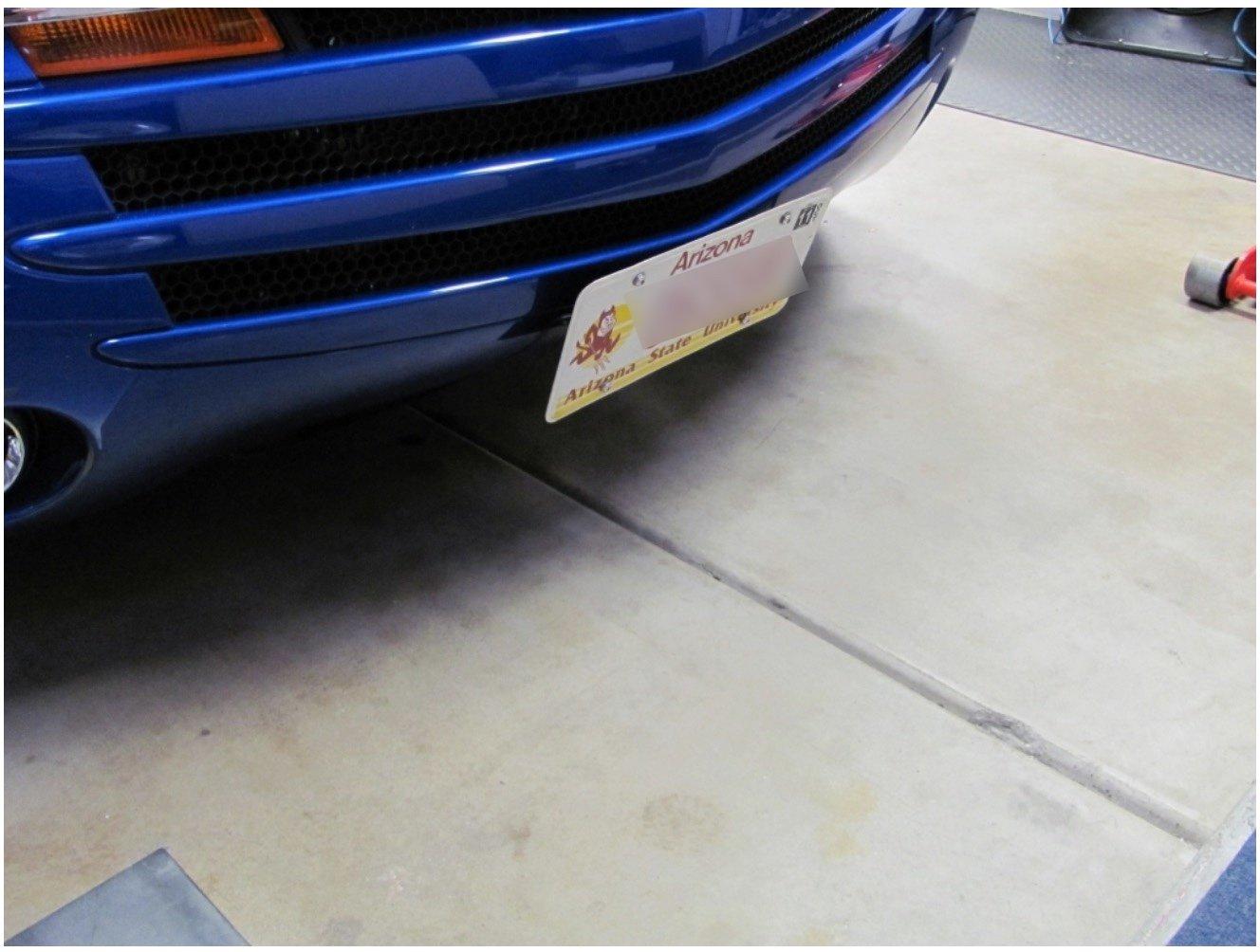 SSR Front License Plate Mount