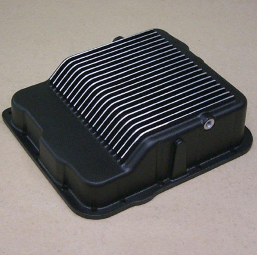 Tranny Pan for the 4L60/65E & 4L70/75E (Black Powder Coated)